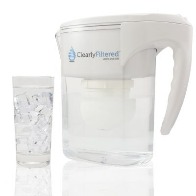 Clearly Filtered Gen 2 Clean Water Pitcher Ice Water