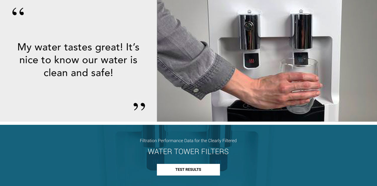 fluoride water cooler clearly filtered